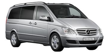 7 Seater Mercedes Vito/Viano Limousine Cab