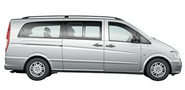 9 Seater Mercedes Vito/Viano Limousine Taxi Singapore